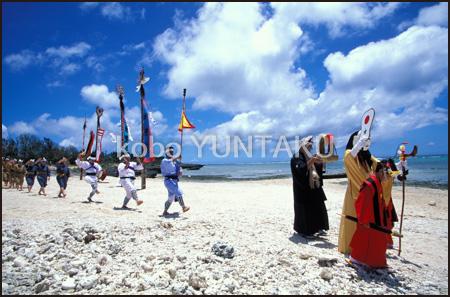 黒島の豊年祭「ミルク」